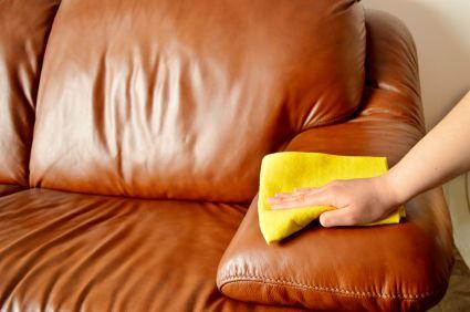 osuszanie skórzanej tapicerki