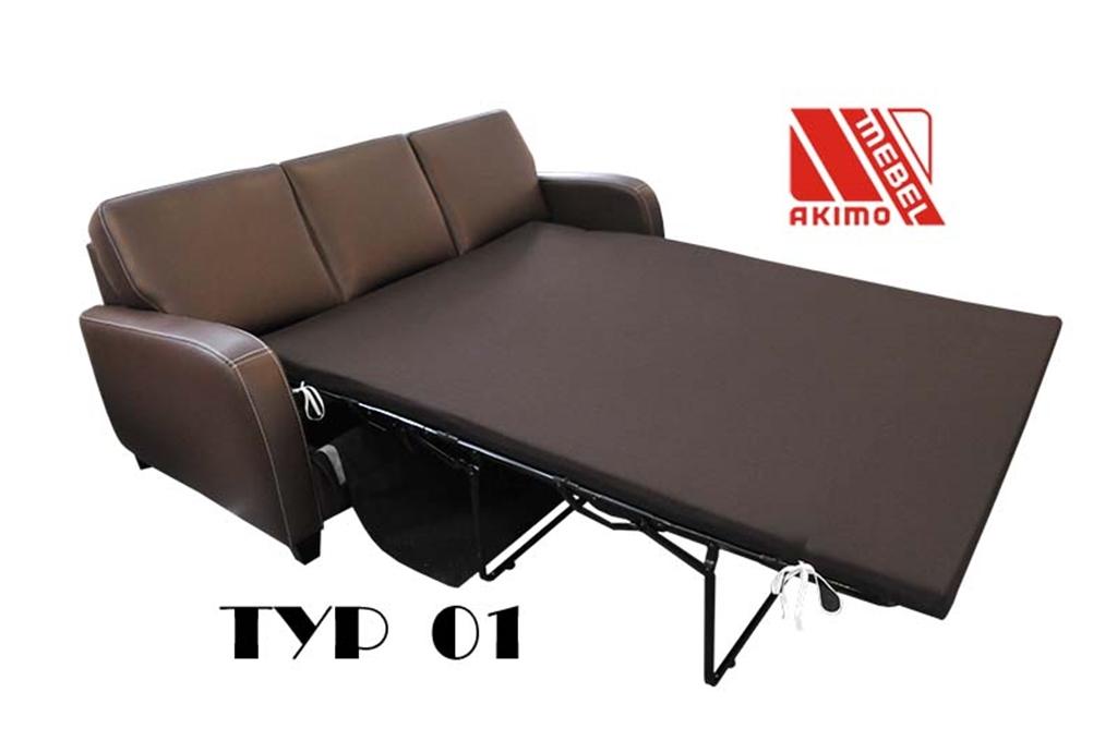 Typ 01 kanapa 3-osobowa z funkcją spania