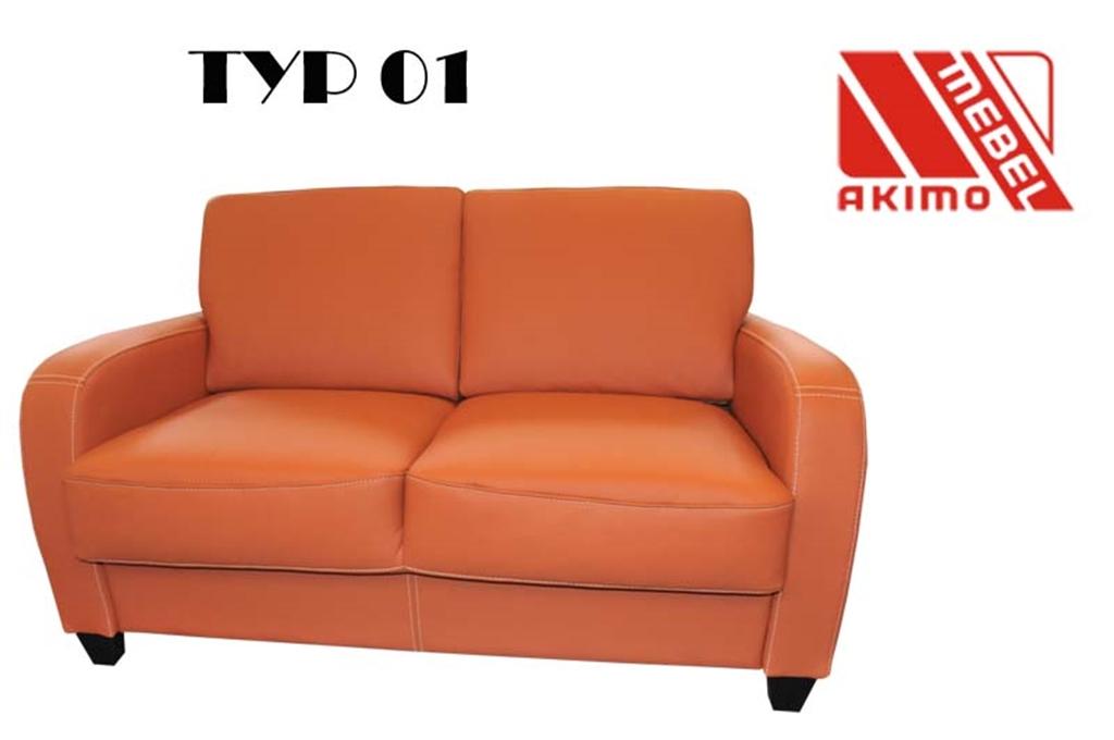 Typ 01 kanapa 2-osobowa na dowolny wymiar