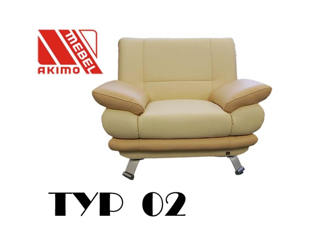 Typ 02  fotel nogi metalowe
