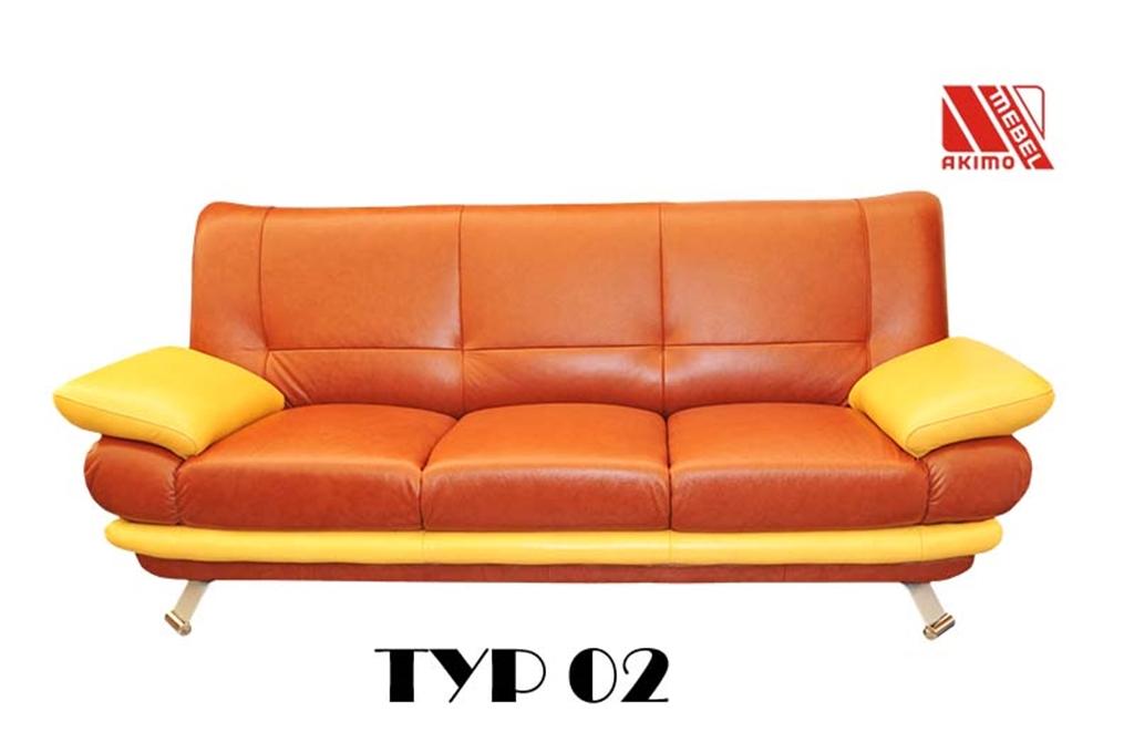 Typ 02  Kanapa w dwóch kolorach