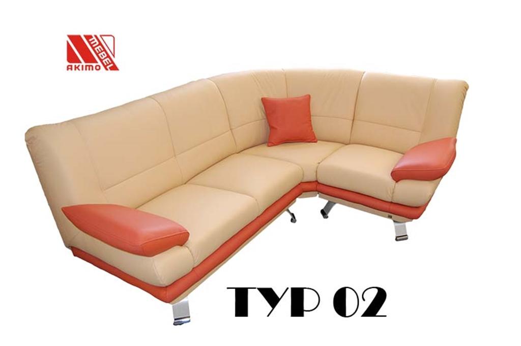 Typ 02  narożnik na wymiar klienta
