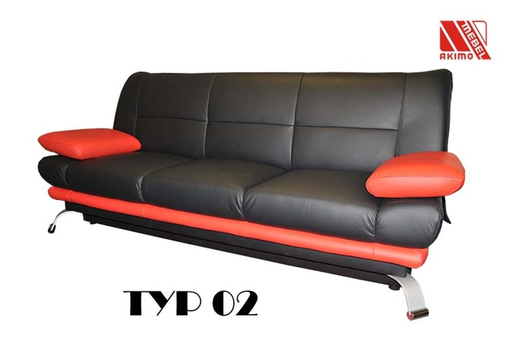 Typ 02  kanapa z funkcją spania wersalka