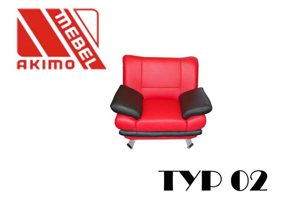 Typ 02  fotel dwa kolory
