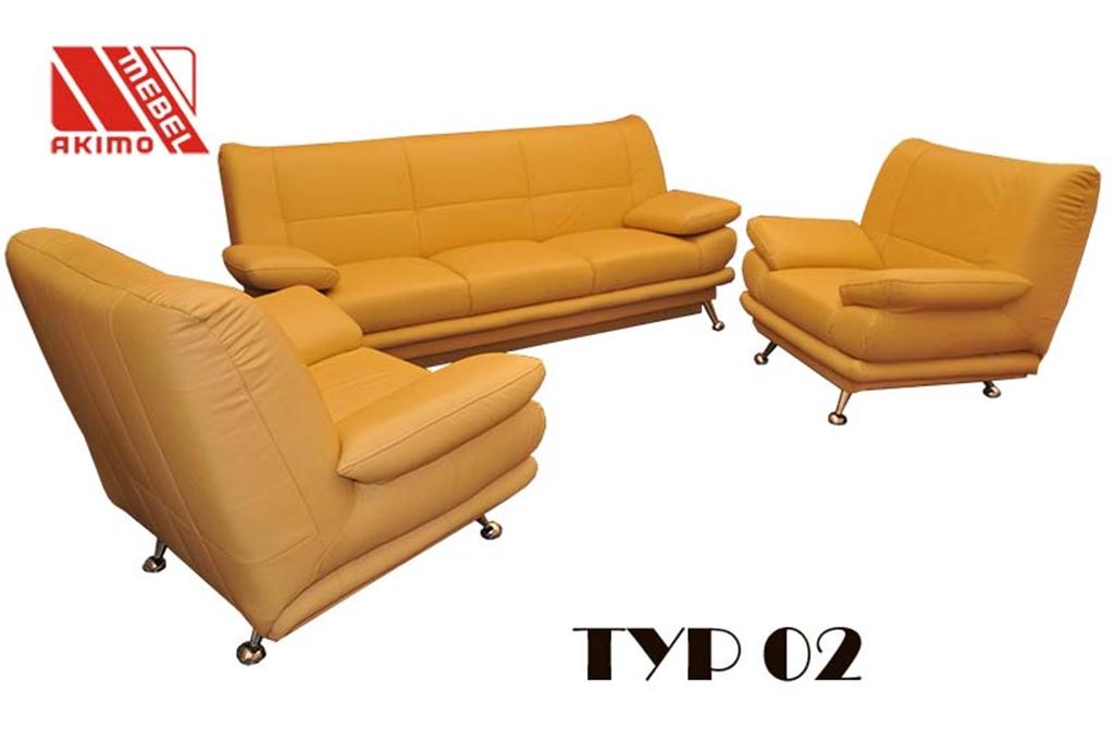 Typ 02  zestaw mebli wypoczynkowych