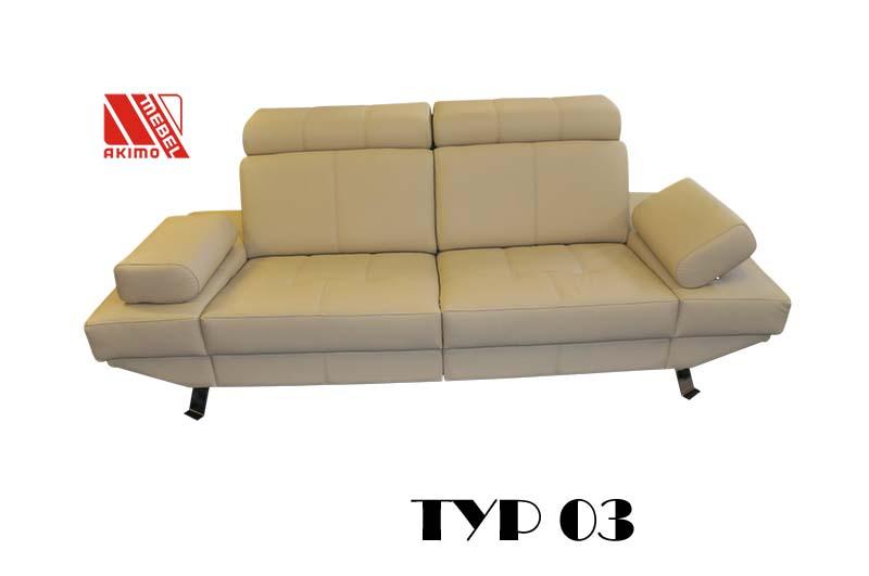 Typ 03 kanapa z podłkietnikami