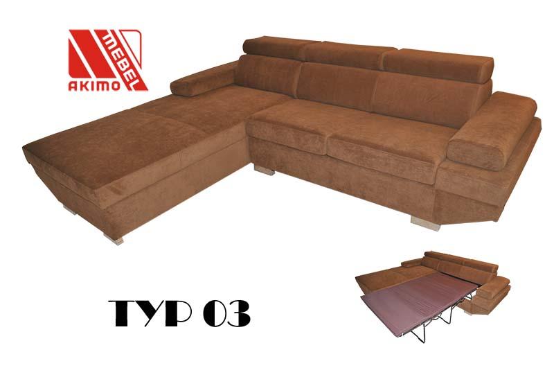Typ 03 narożnik według projektu klienta