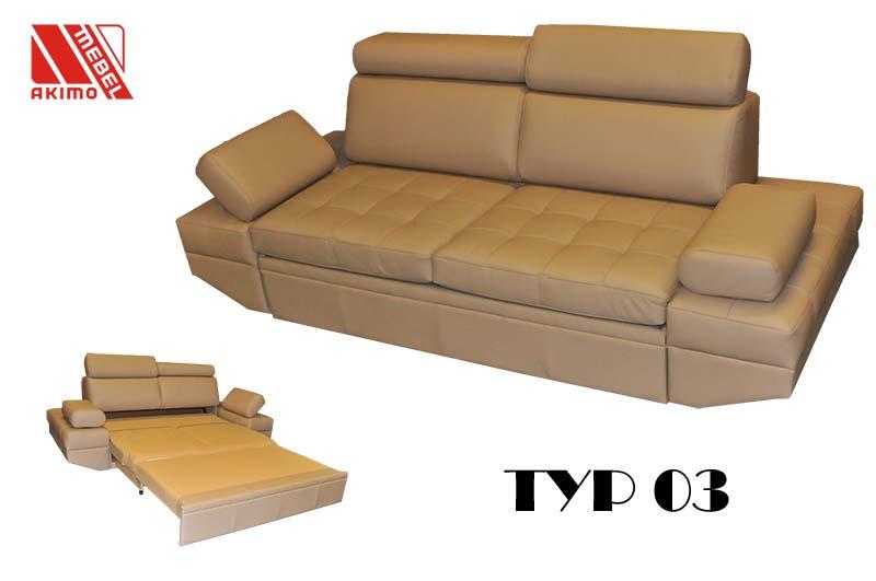 Typ 03 kanapa z funkcją spania
