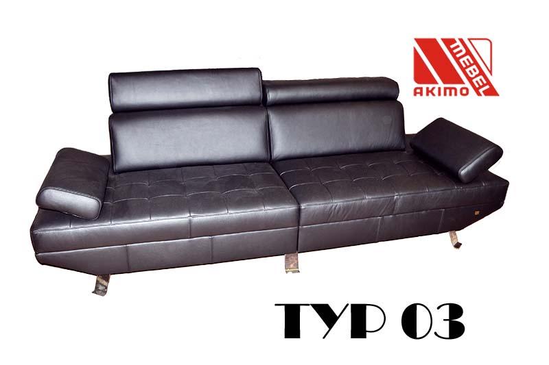 Typ 03 powiększona kanapa