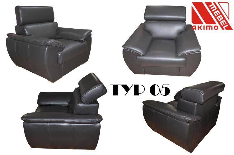 Typ 05 fotel - wariacje