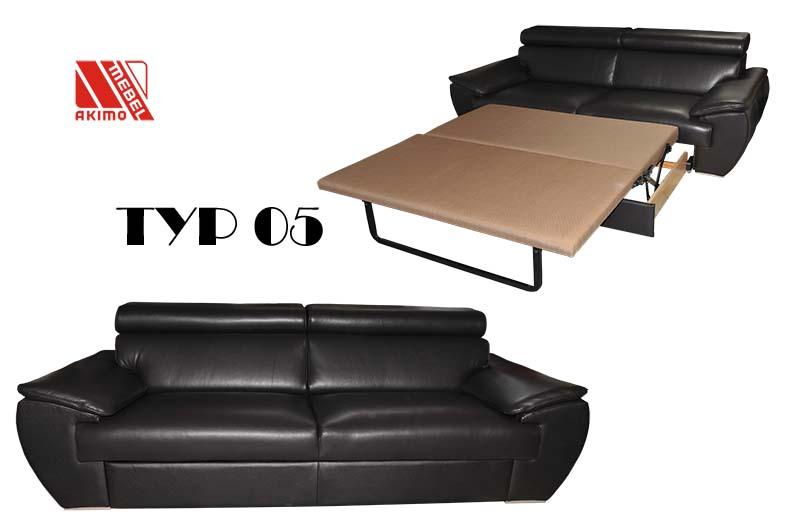 Typ 05 kanapa z funkcją spania