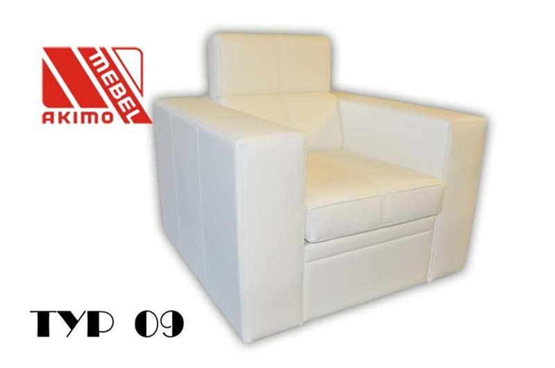 Typ 09  fotel z zagłówkie