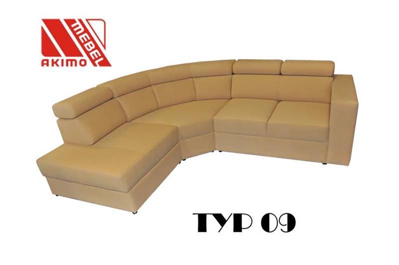 Typ 09  projekt klienta - narożnik