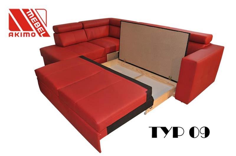 Typ 09  pojemnik na pościel w funkcji spania