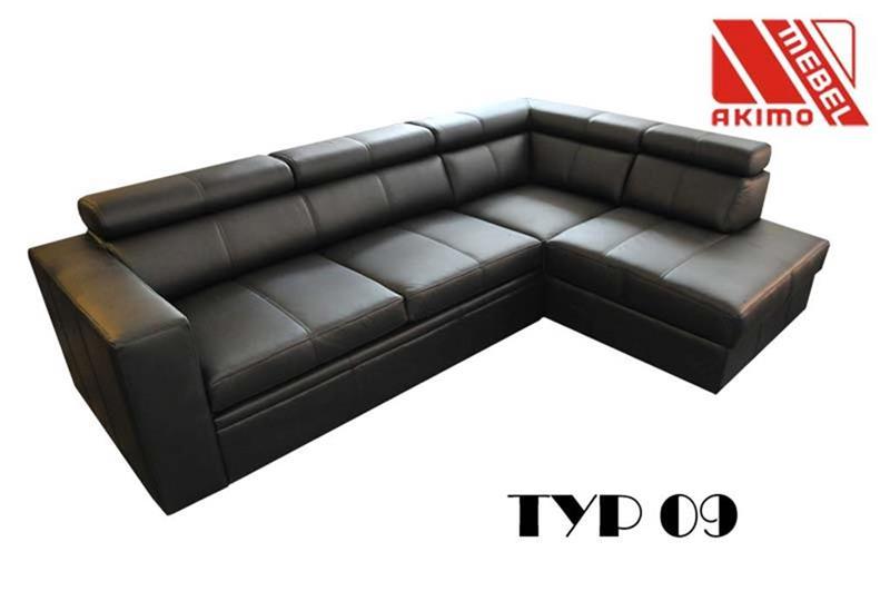 Typ 09  narożnik czarny