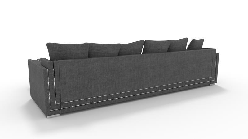 Typ 124 opcja : tył z taśmą tapicerską