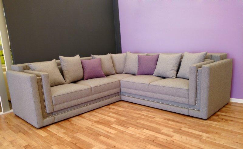 Typ 124 Do narożnika warto dołożyć dodatkowe poduszki w kontrastowym kolorze