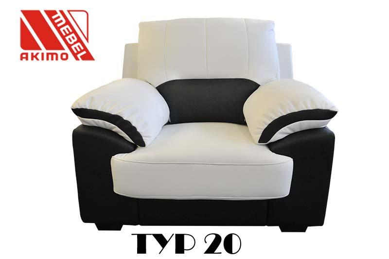 Typ 20 fotel