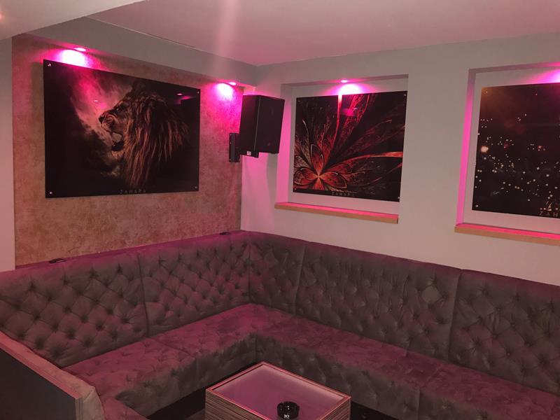 Typ 257 realizacja : shisha bar Sahara w Hamburgu