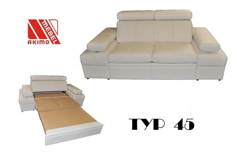 Typ 45 kanapa typ 45 z funkcją spania wózek