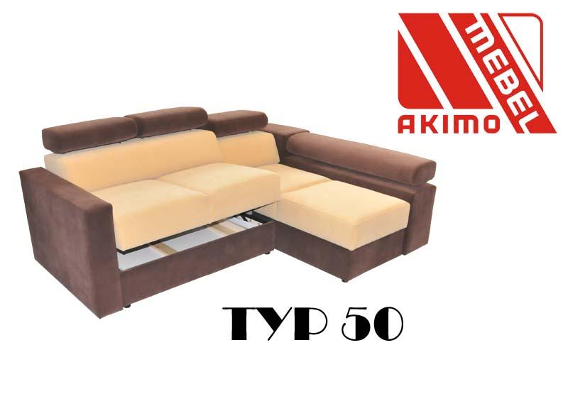 Typ 50  dobrze prezentuje się również w połączeniu dwóch kolorów